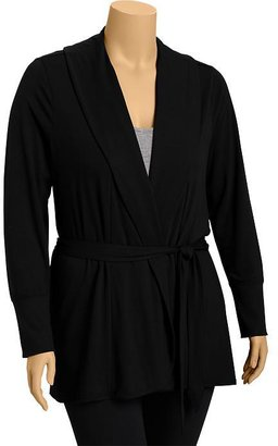 Old Navy Women's Plus Belted Open-Front Cardis