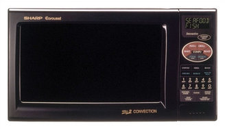 Sharp 0.9 Cu. Ft. 900W Grill 2 Countertop Convection Microwave