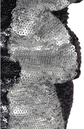 IRO Queeny sequined bomber jacket