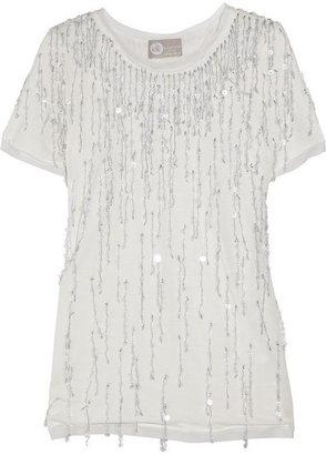 Lanvin Sequined jersey T-shirt