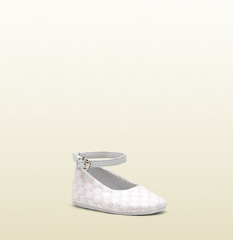 Gucci Baby Ankle Strap Ballet Flat