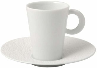 Bernardaud Ecume White Coffee Cup