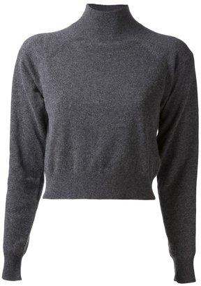 Alexander Wang cropped turtleneck sweater