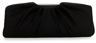 Kate Landry Large Pleated Frame Clutch
