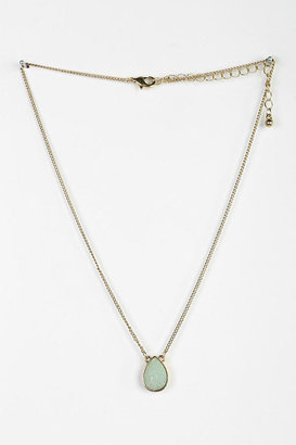 Urban Outfitters Teardrop Druzy Necklace