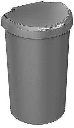 simplehuman 40 Liter Semi-Round Sensor Trash Can - Gray Resin