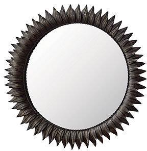 "Regina Andrew Mirror, Dark Zinc Sun 30"""
