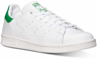 adidas Men's Originals Stan Smith Casual Sneakers from Finish Line $74.99 thestylecure.com