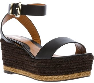 Fendi platform wedge sandal