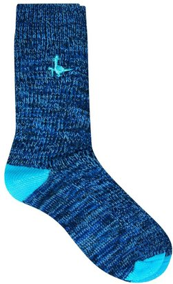 Jack Wills Wellingham Boot Socks Space Dye