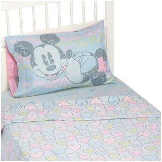 Disney Mickey & Minnie Vintage Full Sheet Set