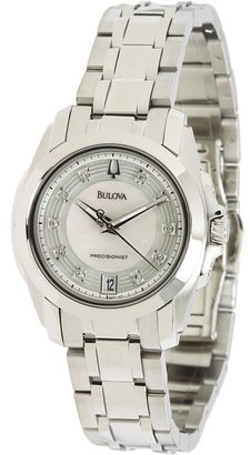 Bulova Ladies Precisionist - 96P115 (Stainless Steel Band/Silver Dial) - Jewelry