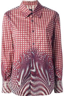 Just Cavalli Vintage printed shirt