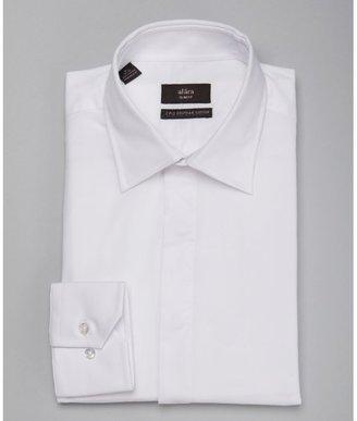 Alara white poplin tuxedo dress shirt