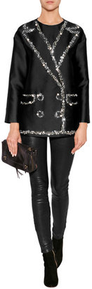 Moschino Cheap & Chic Moschino Cheap and Chic Embellished Blazer Top