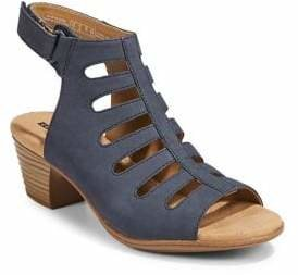 Clarks Collection By Valarie Shelly Heeled Sandals