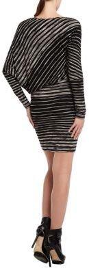BCBGMAXAZRIA Laheld Side-Drape Tunic Dress