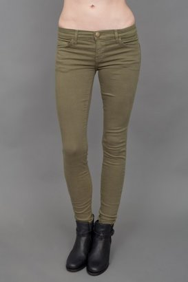 Current/Elliott Ankle Length Jeans - Army