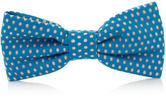 Topman Polkadot Bow Tie Badge