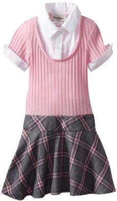 Rare Editions Girls 7-16 Plaid Dress