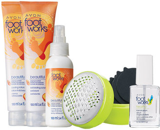 Avon Foot Works 5-Piece Flawless Feet Collection
