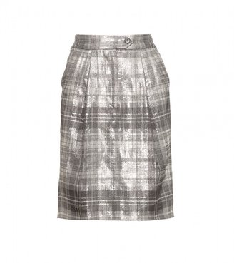 Dries Van Noten SUZIE METALLIC SKIRT