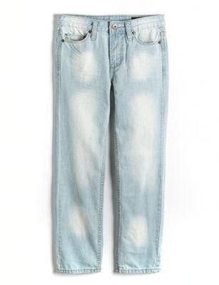 Buffalo David Bitton Boys 8-20 Evan Super Slim-Straight Leg Jeans