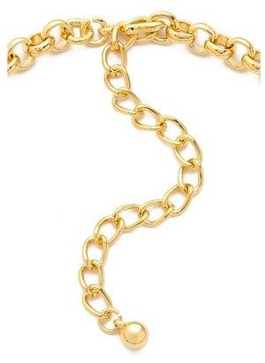 Kenneth Jay Lane Tiered Bib Necklace