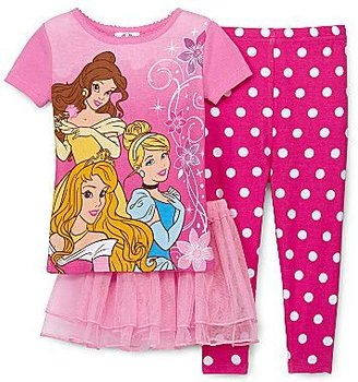 Disney Princess 3-pc. Pajamas and Tutu – Girls 18m-24m