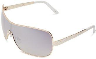 Rocawear R459 GLDWH Shield Sunglasses $45 thestylecure.com