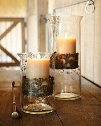 GG Collection G G Collection Small Glass Candleholder