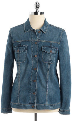 KUT from the Kloth WOMENS Plus Denim Jacket