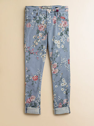 Scotch Shrunk Girl's Floral Print Jeans