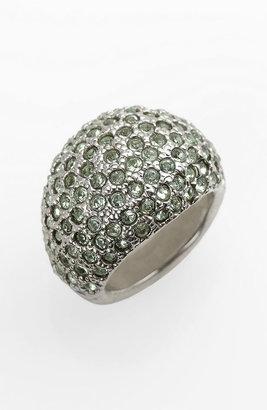 St. John Swarovski Crystal Dome Ring
