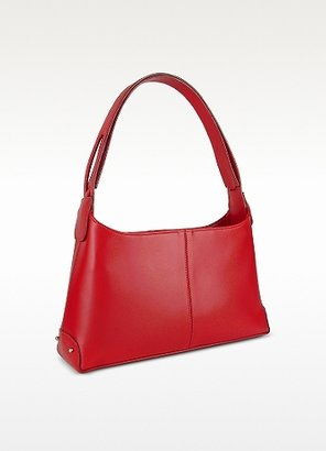Fontanelli Classy Red Italian Leather Handbag