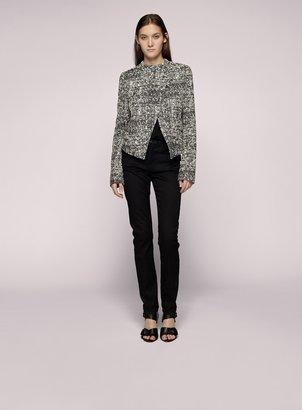 Proenza Schouler Asymmetrical Placket Jacket