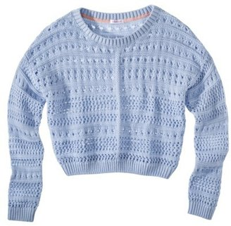 Junior's Cropped Sweater