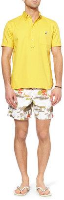 Vilebrequin Moorea Mid-Length Printed Swim Shorts