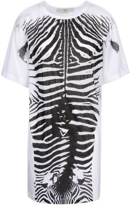 Stella McCartney Zebra Print T-Shirt