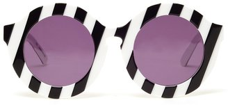 House of Holland 'Peggy' Round Acetate Sunglasses