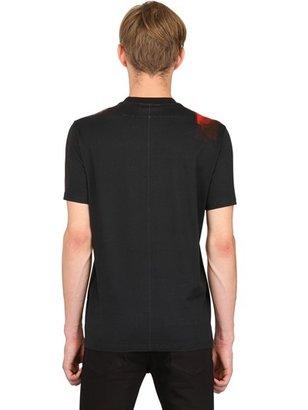 Givenchy Doberman Cuban Fit Cotton Jersey T-Shirt