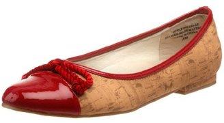 Annie Shoes Women's Cybil Ballerina Flat