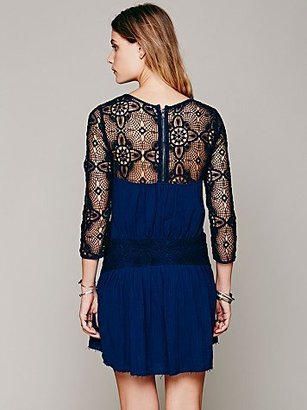 Free People Caged Heart Dress
