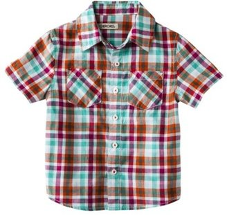 Cherokee® Infant Toddler Boys' Short-Sleeve Button Down Shirt