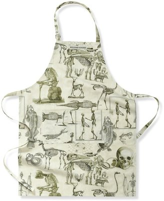 Williams-Sonoma Halloween Skellie Toile Apron