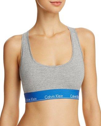 Calvin Klein Modern Cotton Bralette $28 thestylecure.com