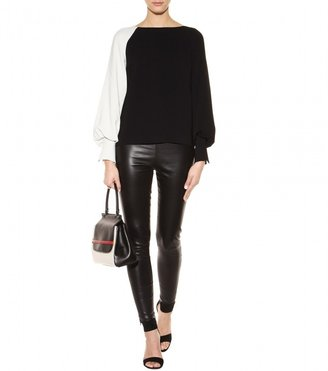 The Row Notterly leather leggings
