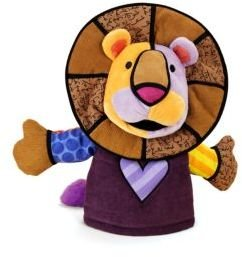 Leonardo Britto the Lion Hand Puppet