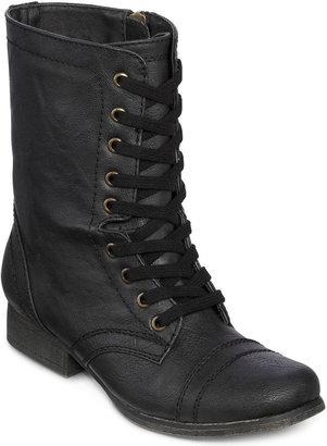 JCPenney OLSENBOYE Olsenboye Tallin Flat Lace-Up Boots