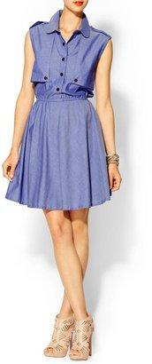 Rachel Zoe I.Madeline Denim Shirt Dress